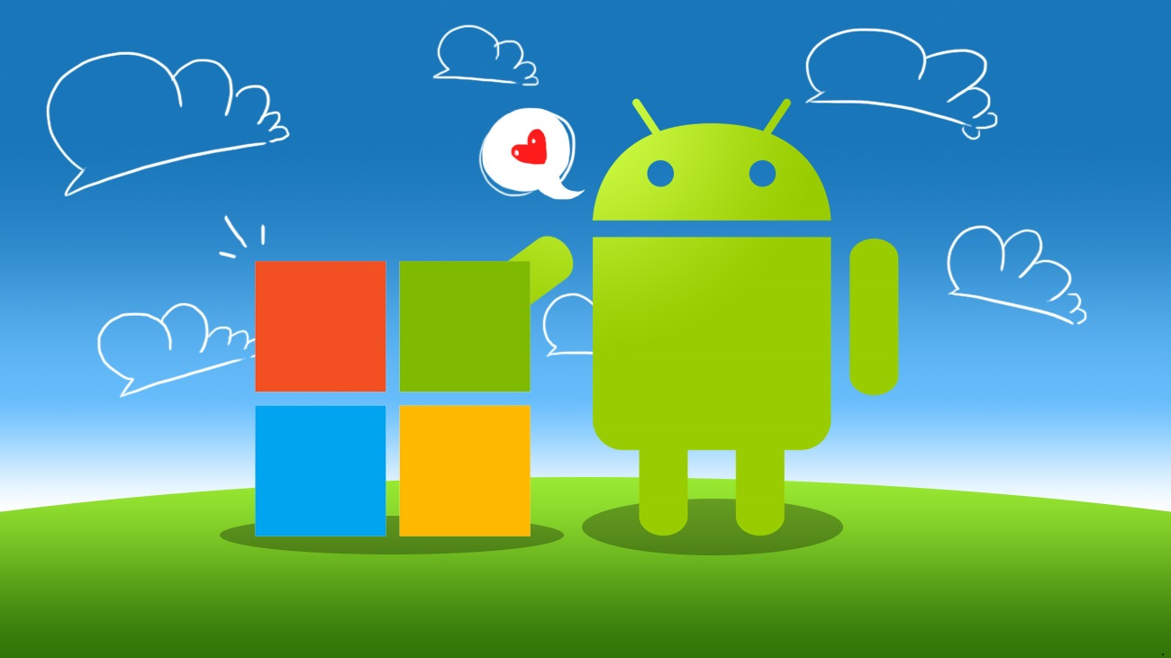 3 - Android Loves Microsoft