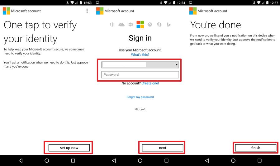 3 - Microsoft Account