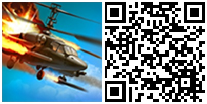 Battle of Helicopters QR