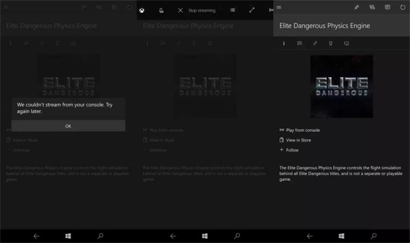 Xbox Stream Windows 10 Mobile