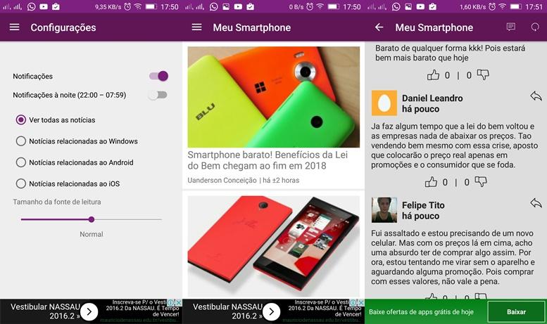 meu-smartphone Google Play Android