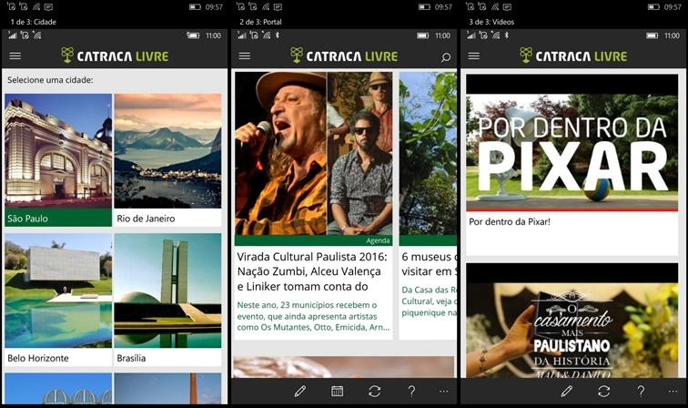 Catraca app