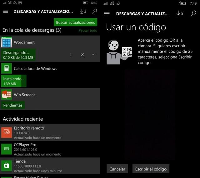 Windows Store W10 Mobile
