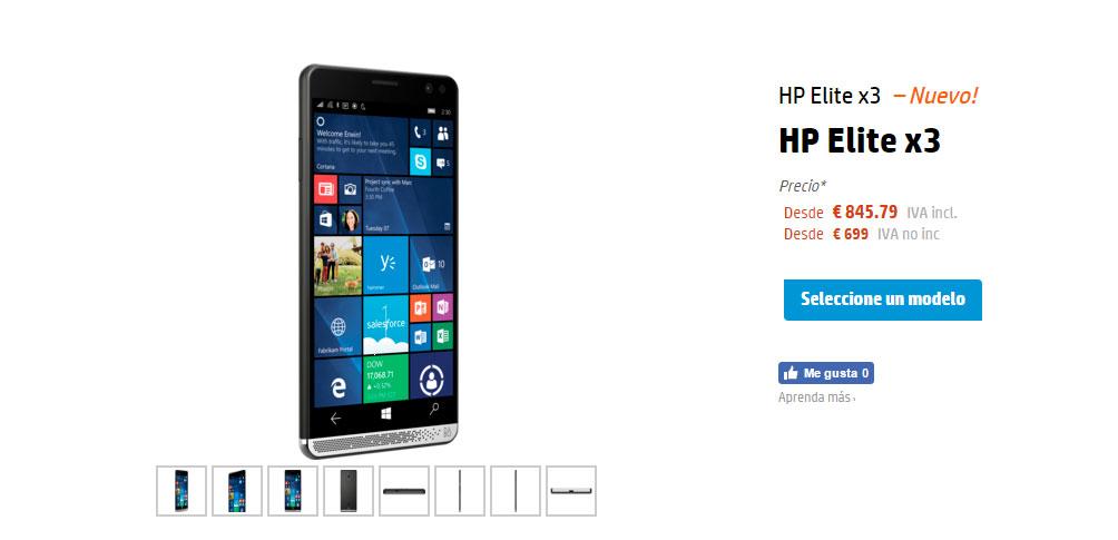 HP Elite-x3