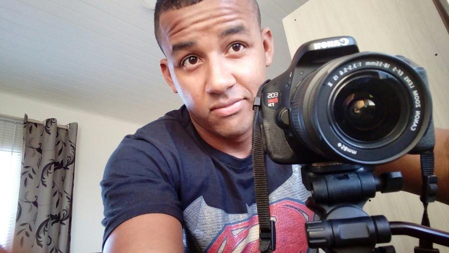 Captura com câmera frontal