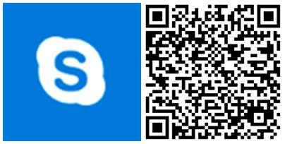 Skype UWP QR
