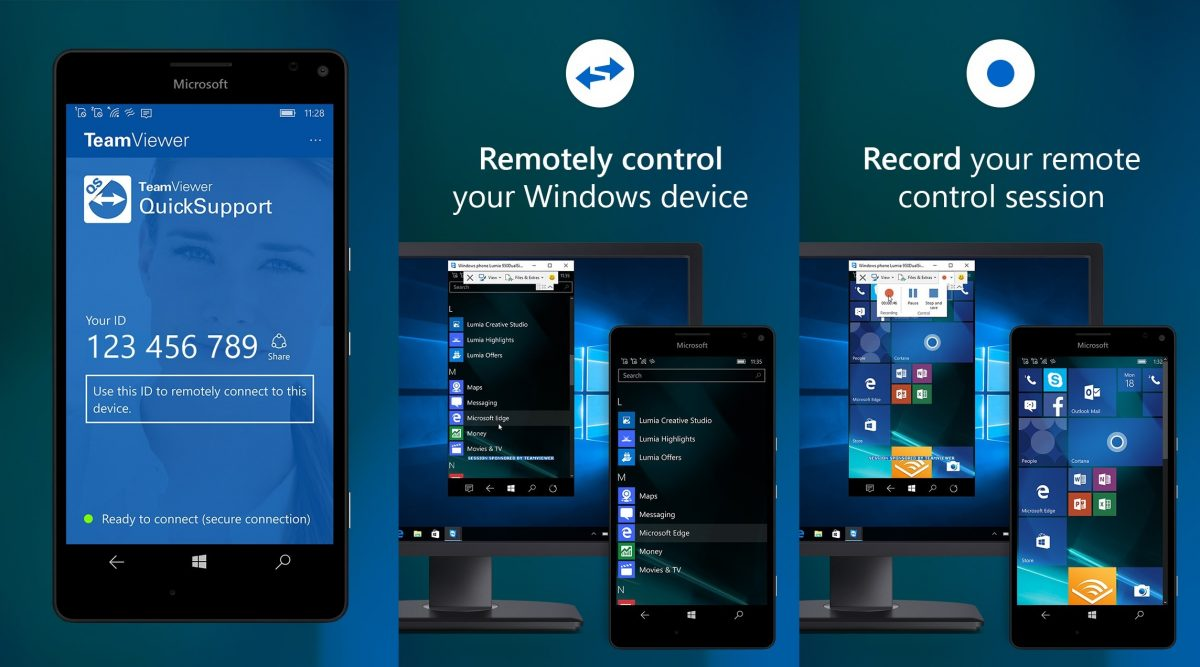 TeamViewer-QuickSupport Windows 10