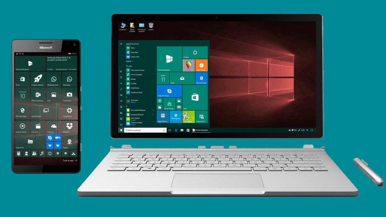 Windows 10 Mobile PC