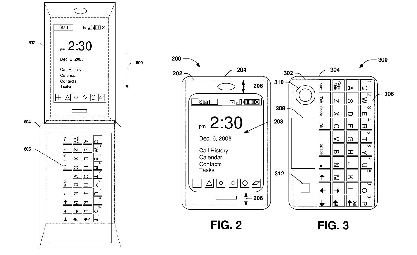 teclado patente