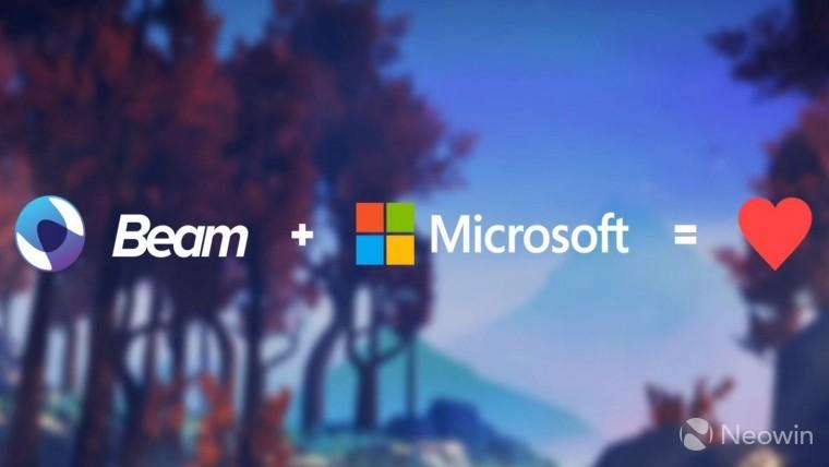 Beam e Microsoft