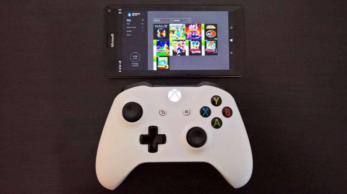 Xbox Streaming Windows 10 Mobile