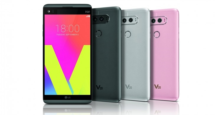 LG V20 Android 7