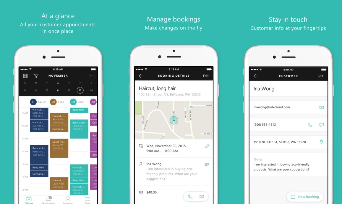 microsoft-bookings-ios-app