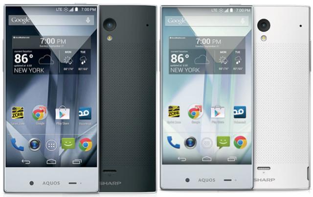 Smartphone Sharp lançado anos atrás.