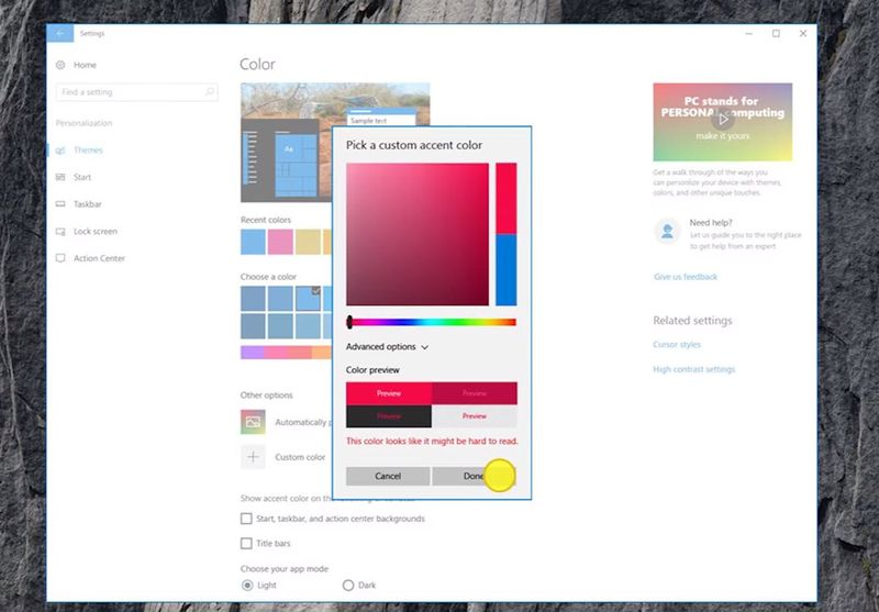 windows-10-accent-color