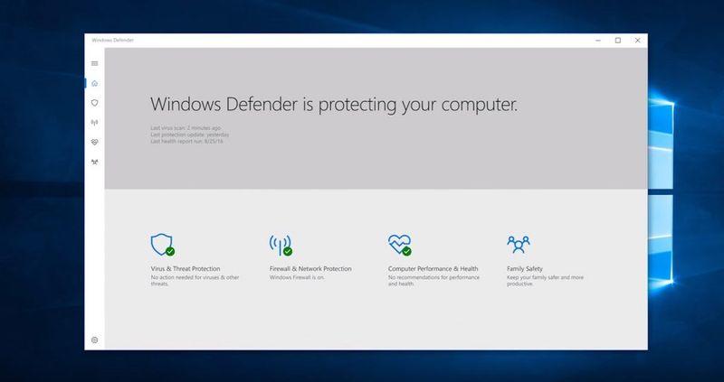 windows 10 creators update defender