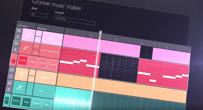 windows 10 creators update groove music