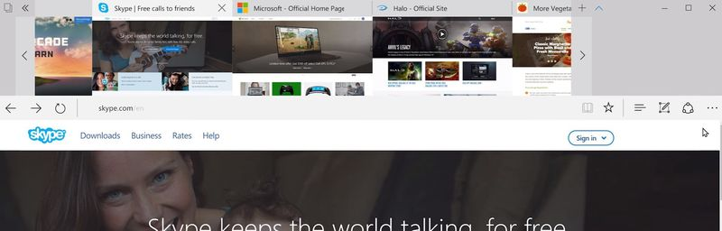 windows 10 creators update edge