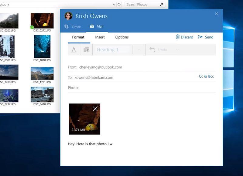 windows 10 creators update people bar