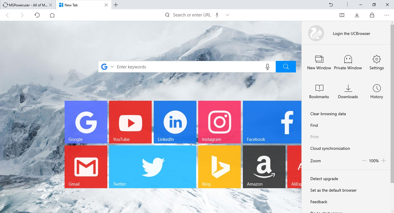Uc browser finalmente chega ao windows 10 meu smartphone o uc browser se faz presente no windows phone desde a era nokia e podemos afirmar que este um dos melhores e mais utilizados navegadores de terceiros stopboris Gallery