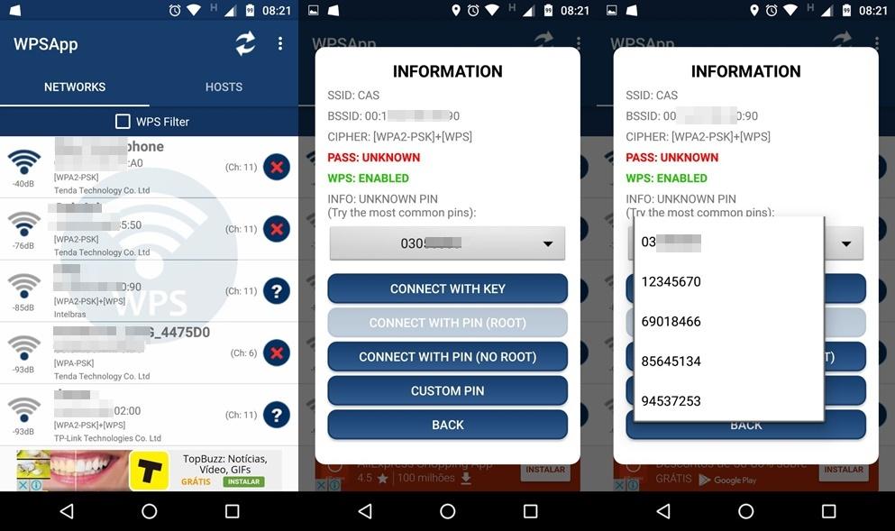 WPSApp é um novo App que promete se conectar à algumas redes Wi-fi
