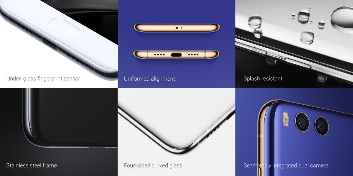 Xiaomi mi 6 oficialmente revelado com design em vidrocermica e confirmado atravs da apresentao o hardware composto por um chipset snapdragon 835 octa core rodando a 190ghz gpu adreno 540 so auxiliados a nada stopboris Gallery
