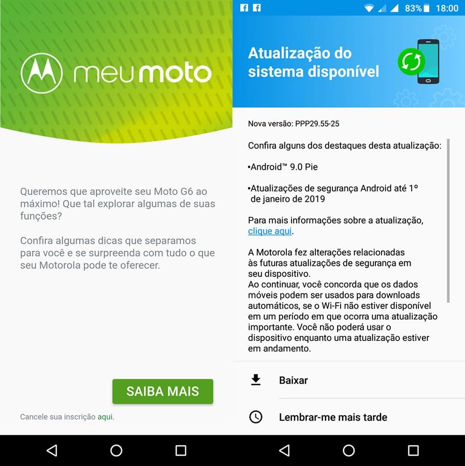 Mais cedo do que se esperava: Todos os donos do Motorola
